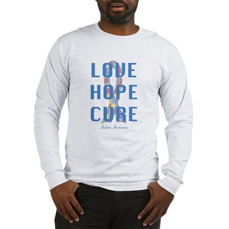 Autism Awareness (lhc) Long Sleeve T-Shirt