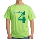 Dad Father Grandfather Papa G Green T-Shirt