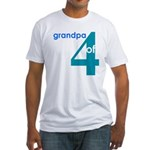 Dad Father Grandfather Papa G Fitted T-Shirt