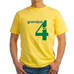 Dad Father Grandfather Papa G Yellow T-Shirt