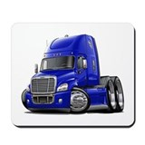 Freightliner Blue Truck Mousepad