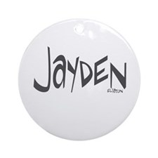 Jayden Ornament (Round)