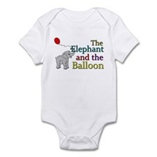 Elephant and the Balloon Onesie