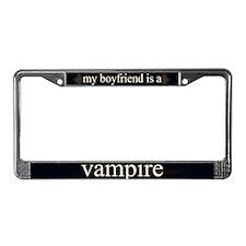 Boyfriend Vampire V3 License Plate Frame