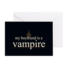 Boyfriend Vampire V3 Greeting Card