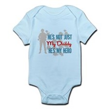 Funny My daddy is a marine Infant Bodysuit