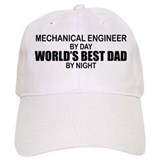 World's Best Dad - Mechanical Engineer Baseball Cap