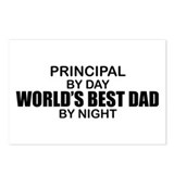 World's Best Dad - Principal Postcards (Package of
