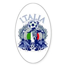 Italia Soccer Decal