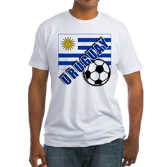 URUGUAY Soccer Team Fitted T-Shirt