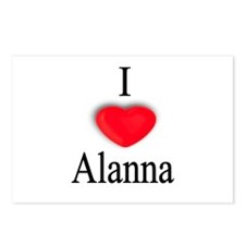 Alanna Postcards (Package of 8)