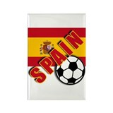 SPAIN Soccer Team Rectangle Magnet (10 pack)