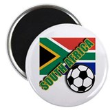 "World Soccer South Africa Team T-shirts 2.25"" Magn"