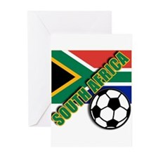 World Soccer South Africa Team T-shirts Greeting C