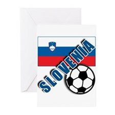 World Soccer SLOVENIA Team T-shirts Greeting Cards