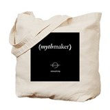 Joseph Campbell MythMaker Tote Bag (Black/White)