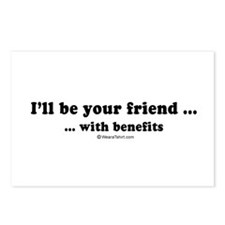 I'll be your friend with benefits -  Postcards (Pa