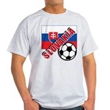 World Soccer Slovakia Team T-shirts T-Shirt