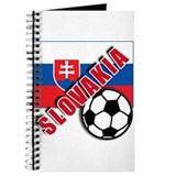 World Soccer Slovakia Team T-shirts Journal