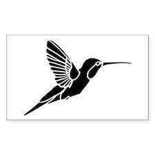 Hummingbird silhouette Decal