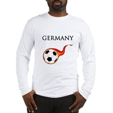 Germany Soccer Long Sleeve T-Shirt