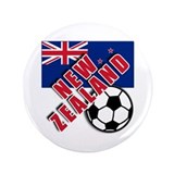 "NEW ZEALAND Soccer 3.5"" Button"