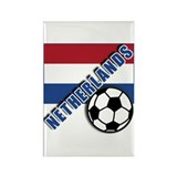 NETHERLANDS Soccer Rectangle Magnet (100 pack)