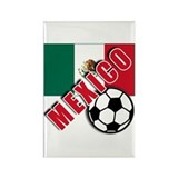 MEXICO Soccer Rectangle Magnet