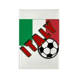 World Soccer ITALY Rectangle Magnet (10 pack)