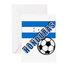 World Soccer Honduras Greeting Cards (Pk of 10)