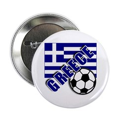 "World Soccer GREECE 2.25"" Button"