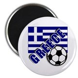"World Soccer GREECE 2.25"" Magnet (100 pack)"