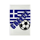 World Soccer GREECE Rectangle Magnet