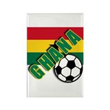 World Soccer GHANA Rectangle Magnet (10 pack)