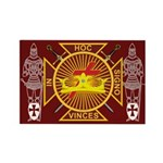 Masonic Knights Templar Rectangle Magnet (10 pack
