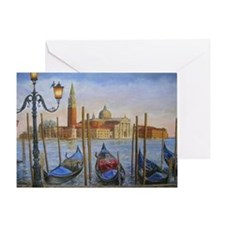 venetian romance Greeting Card