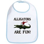 ALLIGATORS ARE FUN ! Bib