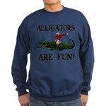 ALLIGATORS ARE FUN ! Sweatshirt (dark)