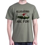 ALLIGATORS ARE FUN ! Dark T-Shirt
