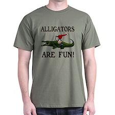 ALLIGATORS ARE FUN ! T-Shirt