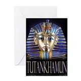 Tutankhamun Greeting Card