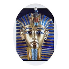Tutankhamun Ornament (Oval)