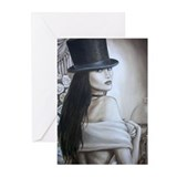 Top Hat Greeting Cards (Pk of 20)
