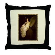 Winged Figure by Abbot Thayer Throw Pillow