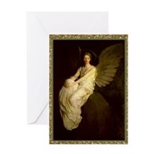 Winged Figure by Abbot Thayer Sympathy Card