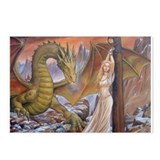 Prowling Dragon Postcards (Package of 8)