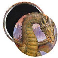 """Prowling Dragon 2.25"""" Magnet (10 pack)"""