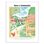 Farm to Community - Small Poster