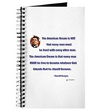Reagan American Dream Journal