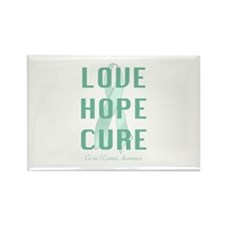 Cervical Cancer Awareness Rectangle Magnet (100 pa